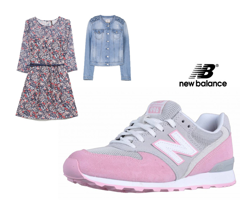 Look sport chic con New Balance