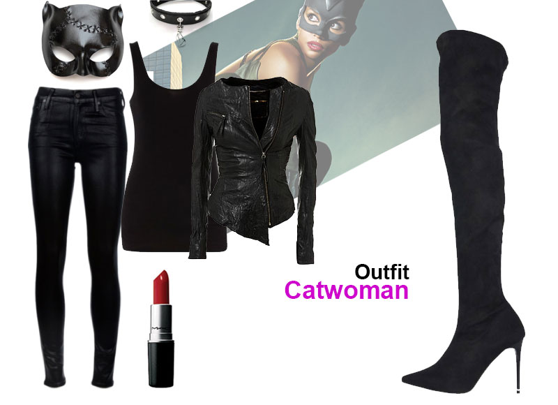 ¿Truco o trato? Outfit Catwoman