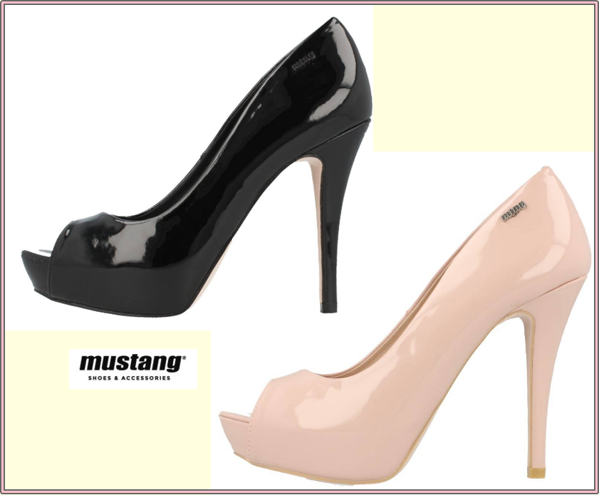 MUSTANG. Zapatos online. VIRGINIA ROSA collage oberta davant