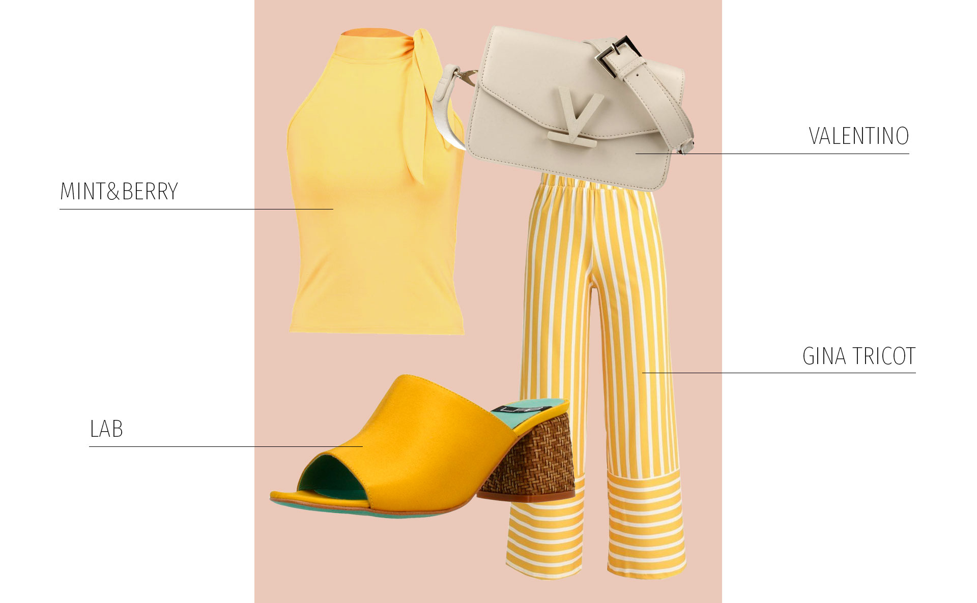 Total Look en Amarillo